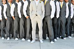 Untraditional attire for the boys...just what we are looking for. Love it!