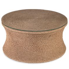 Sampson Round Cocktail Table @LaylaGrayce