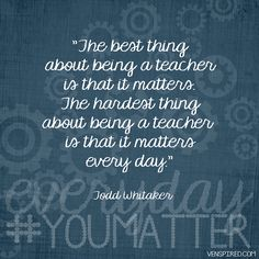Teaching Matters Everyday | Flickr - Photo Sharing!