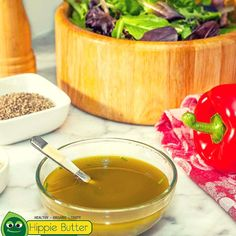I like to add hulled hemp seeds and hemp seed oil to almost every meal. .  #hemp #hempseeds #hempoil #hempfood #vegan #paleo #healthy #omega #hippie #hippielife #hippiestyle #nonGMO #fitfam #salad #delicious .  Check out the 10% off coupon code in our bio = @hippiebutter