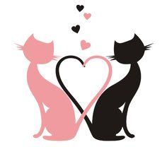 клипарты влюбленные коты: 13 тыс изображений найдено в Яндекс.Картинках