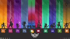 Zelda theme 2.0 by NicoNoFace