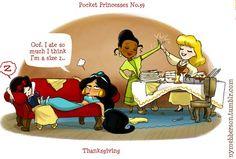 Disney Cast: Chibi Awnnn! - Parte 51: Pocket Princesses 3