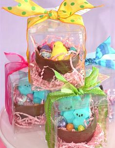 Chocolate Easter Bowl