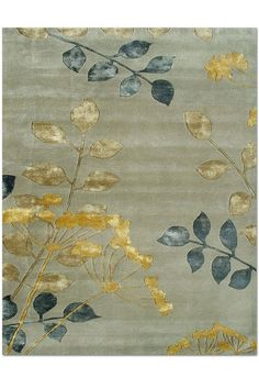 Walden Wool and Art Silk Rug - Silver/Gold by The Rug Market on @HauteLook