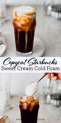 Starbucks Sweet Cream, Starbucks Vanilla, Starbucks Recipes, Starbucks Pumpkin, Starbucks Order, Sweet Cream Recipe For Coffee, Vanilla Sweet Cream Recipe, Starbucks Drinks, Starbucks Coffee