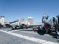 USS Midway Museum | SCATTERBRAIN #SanDiego #California #travel