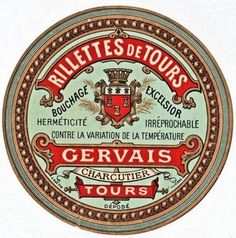 Vintage Labels Free Clip Art – Vintage French Label - Here's another beautiful vintage French label! I just love how decorative the graphics are on these old labels. This one would be beautiful decoupaged onto a tumbled marble tile and used as a coaster.