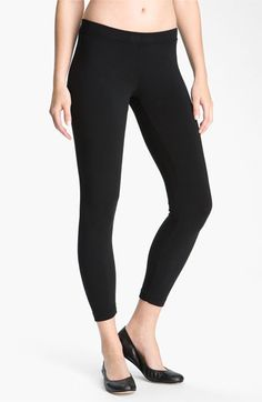 James Perse Stretch Knit Leggings available at #Nordstrom