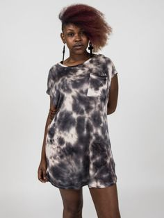Trendy Tie Dye Easy Oversized Tshirt Dress. Boomerang Boutique Clothes! Shop Online now!