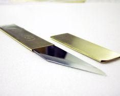 Pocket Knife  Japanese Kiridashi by OriginHG on Etsy
