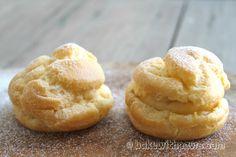 Cream Puff, Cream Puff with custard filling