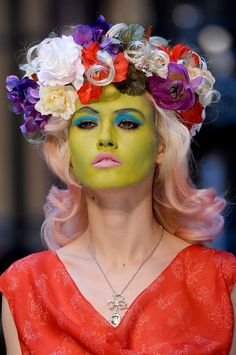 Oh dear! Vivienne Westwood does it again at london fashion week 2013