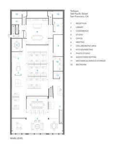 OpenPlan Open Office Floor Plan Office Space Pinterest Design Office