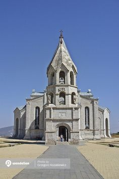 Ghazanchetsots Cathedral of Christ the Holy Savior, the pride of Shushi.   #Artsakh #ChurchPhotography