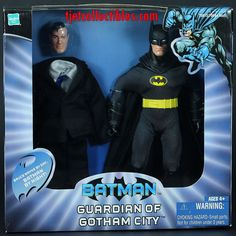 "Batman Guardian of Gotham City 9"" Retro-Style Exclusive MIB Variant Packaging #DCComics"