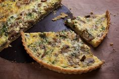 Being a part-time Parisian allows me a full-time love affair with quiche.The savory tart is everywhere. My favorite cafes have a quiche on the menu; the flavor changes daily, but it's always served with the same little green salad (and a not very good dressing, which must come from cafe-central; it's