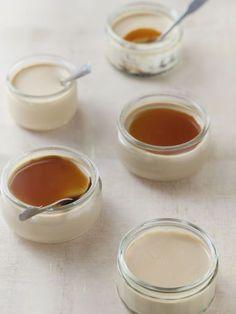 Recette Panna cotta au caramel au beurre salé