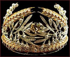 Russian Field Tiara from the Romanov Royal Collection belonging to Her Highness Princess Sveva della Gherardesca of Russia