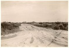Sand Road on Hatteras Island. No Date