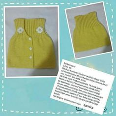 This post was discovered by sevgi. Discover (and save!) your own Posts on Qoster. Diy Crafts Knitting, Knitting For Kids, Crochet For Kids, Diy Crochet, Knitting Projects, Baby Knitting, Crochet Projects, Knitting Patterns, Crochet Baby Sweater Pattern
