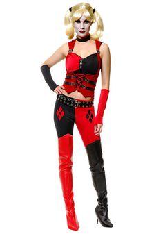 Sexy Harlequin Joker Costume