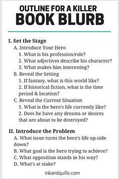 Killer Book Blurbs