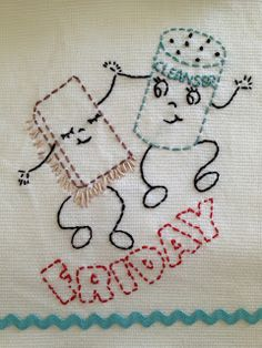 aunt martha embroidery pattern #3929 Happy Gadgets