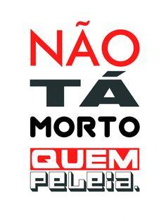 Camiseta Infantil Não Tá Morto - Branca - Trapo Tri