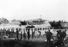 Operazione Husky: la 51a Divisione dell'esercito britannico sbarca a Licata il 10 luglio del 1943...