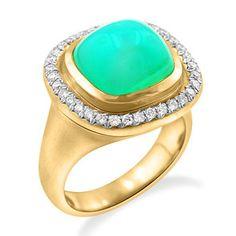 Peruvian Blue Opal and Diamond Rock Candy Ring — Ricardo Basta Fine Jewelry Jewelry Design Earrings, Opal Jewelry, Fine Jewelry, Indian Jewellery Design, Indian Jewelry, White Opal, Black Opal, Custom Made Engagement Rings, Bastilla