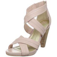 ?? Seycelles Women's Mother of Pearl Platform Sandal