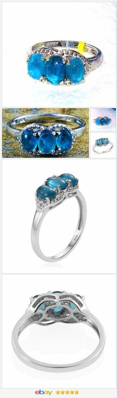 Neon Apatite Ring Size 7 USA SELLER  | eBay  50% OFF #EBAY http://stores.ebay.com/JEWELRY-AND-GIFTS-BY-ALICE-AND-ANN