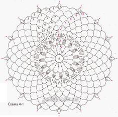 crochelinhasagulhas: Vestido rosa em crochê Crochet Doily Diagram, Crochet Stitches Patterns, Crochet Motif, Crochet Doilies, Crochet Flowers, Stitch Patterns, Crochet Wool, Crochet Art, Vintage Crochet
