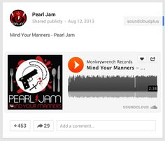 Google+ Embeds SoundCloud Audio Files Into Posts