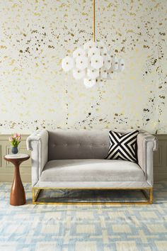 Jonathan Adler, Spring Catalog 2015 do you see that Amazzingggg wallpaper?! To.Die.For