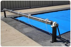 The Macball Heat Saver Thermal 8 Pool Cover and Reel systems are a practical, cost effective solution to retain heat and reduce water and chemical evaporation in Residential and Commercial pools Hidden Pool, 8 Pool, Thermal Pool, Stock Tank Pool, Moraira, Safety Cover, Blanket Box, Pool Cleaning, Cool Pools