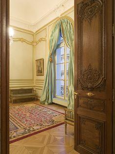 Piece of Art from APF UK. Hand made sculpted wooden door. by apf_uk Timber Door, Wooden Doors, Interior Architecture, Interior Design, Interior Doors, Traditional Windows, Design Consultant, Joinery, Carpentry