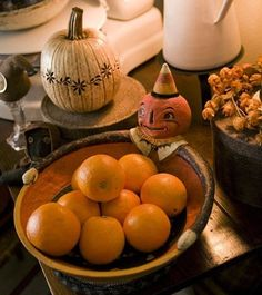 Agent Orange: Home decor shopowner Christina Zimmerman loves to celebrate fall in her custom-built Junction City, Oregon, home with Halloween- and autumn-themed accents scattered throughout every room. On the living room coffee table, for example, a jack o\