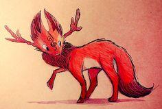Sketchbook Daily 62# - Deer Fox