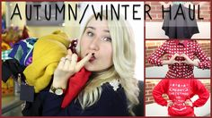 An autumn & winter fashion haul featuring items from Spylight, ASOS, H&M, Chicnova and Etsy!!!