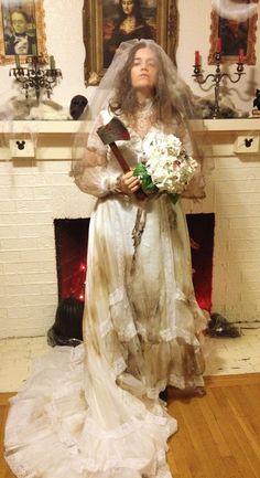Disney's Haunted Mansion Attic Bride costume
