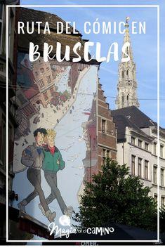 Una de las mejores maneras de recorrer Bruselas es a través de su ruta del cómic. Imperdible para los amantes del arte urbano y del cómic.  #bruselas #belgica #comic #rutadelcomic #europa #viajarconniños #viajarenfamilia #tintin #travel #quehacer #rutasalternativas