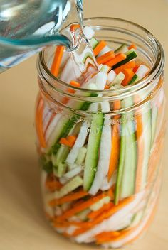 Vietnamese pickled vegetables http://viaggi.asiatica.com/