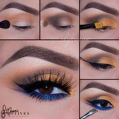 Gorgeous Makeup, Love Makeup, Makeup Inspo, Makeup Art, Makeup Inspiration, Beauty Makeup, Hair Makeup, Makeup Ideas, Beauty Nails