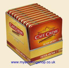 Even more tasty than the originals! Cafe Creme Cigars, Tins, Men's Fashion, Childhood, Tasty, Smoke, Memories, The Originals, Retro