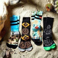 It's hard to imagine a better oasis than this. New summer styles including the Desert Series, now available #theuncommonthread  #instance @stancesocks