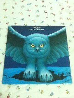 RUSH - Fly By Night - 1977 - Anthem Records - Vintage Vinyl LP Record Lp, Night, Stuff To Buy, Ebay, Fictional Characters, Vintage, Vintage Comics, Fantasy Characters