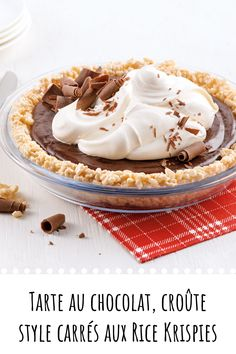 Rice Krispies, Sweet Pie, No Sugar Foods, Pie Recipes, Easy Desserts, Baked Goods, Biscuits, Food And Drink, Favorite Recipes