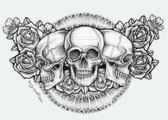 So here is a chest piece I want. However I really want a heart in the center and not a skull. I shall show you what I mean.